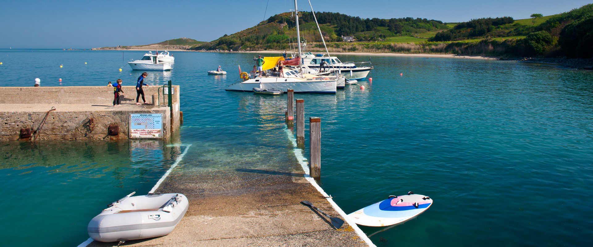 Herm Harbour - Images courtesy of VisitGuernsey