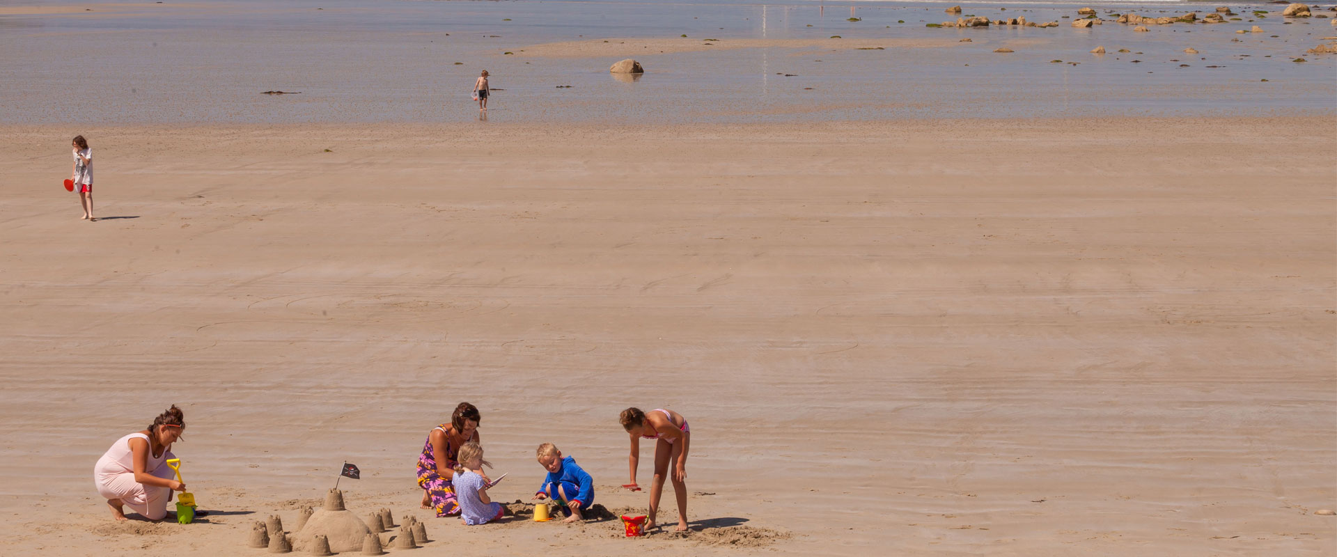 Sandy Beach - Images courtesy of VisitGuernsey